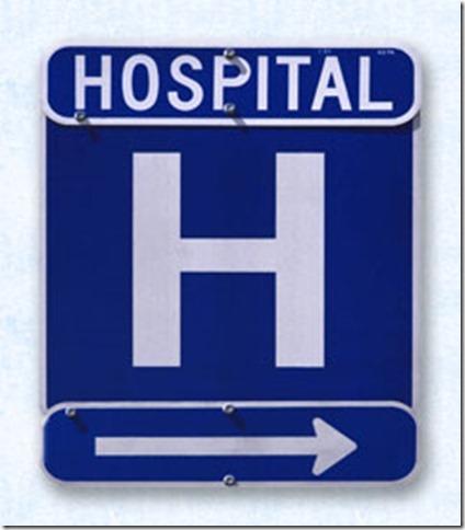 hospital-signage